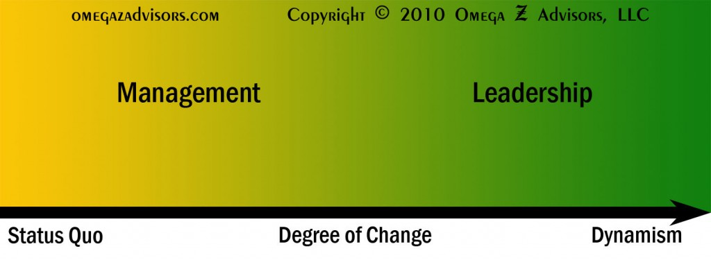 When it comes to change, the leadership versus management difference is relationships.