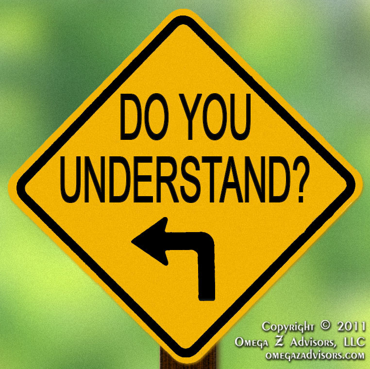 problems with asking do you understand