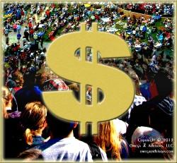 Dollar Sign & People