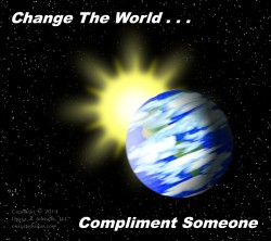 Change the World - Compliment Someone