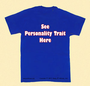 It can be quite easy and clear to assess personality traits.