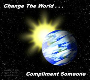 Change World Compliment 300