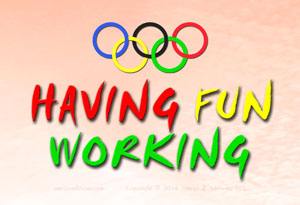 When employees are having fun working, they do better.