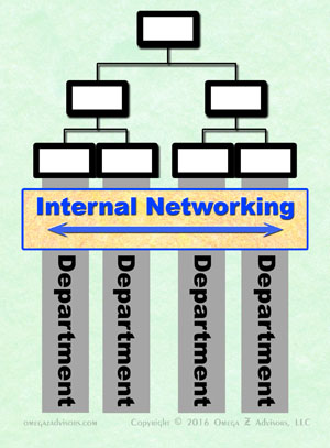 Diversity is a key attribute of the key internal networking strategy.