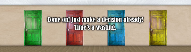Making good leadership decisions begins by making a decision!