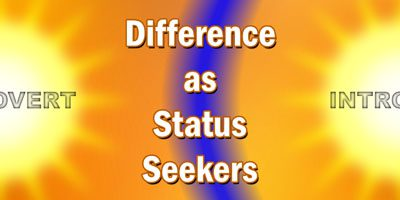 Extroverted and Introverted Status Seekers
