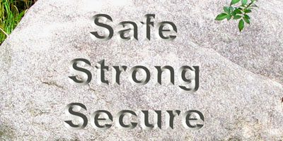 Safe Strong Secure Words