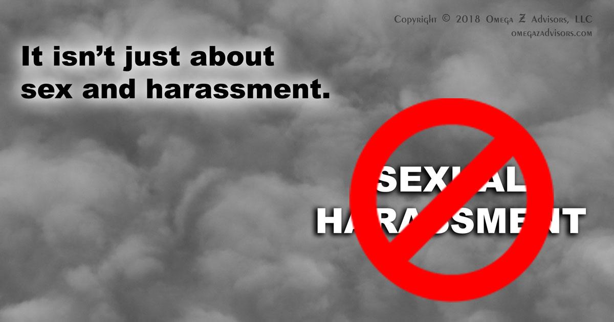 Big vanilla sexual harassment