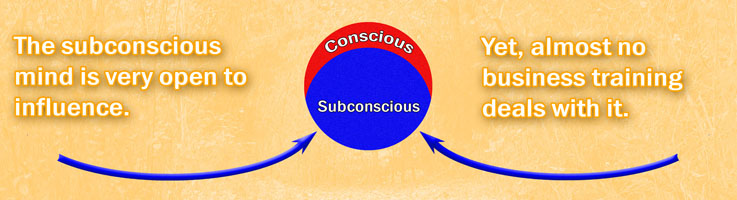 Influencing the subconscious mind in others is easy