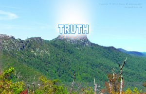 If we're not working hard to get to the truth, then we're lying to ourselves and surrendering to the power of lies over truth.