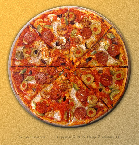 Pizza is an example where eating as a social activity becomes a team building one.