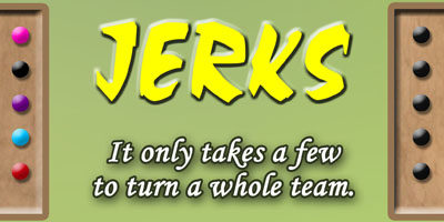 The power of jerks in the workplace