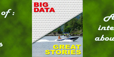 What happens in the case of big data versus great stories?