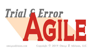 Understanding Agile means expanding how we see trial and error.
